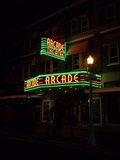 Arcade Theatre, Fort Myers, Florida, night shot