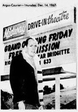 Midway Drive-In 1967