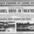 Laurel Drive-in Grand Opening Ad