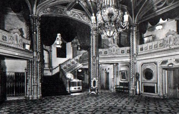 Orpheum Theatre lobby area
