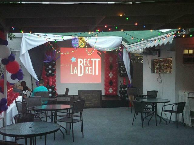 Open space in Teatro La Beckett