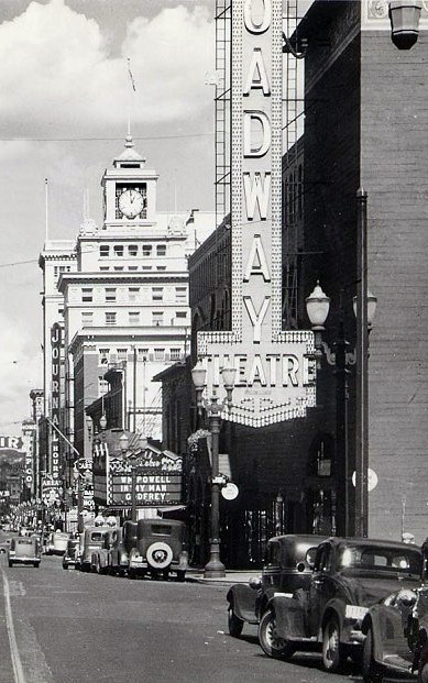 Broadway Theatre exterior