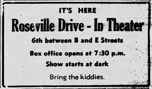 Roseville Drive-In