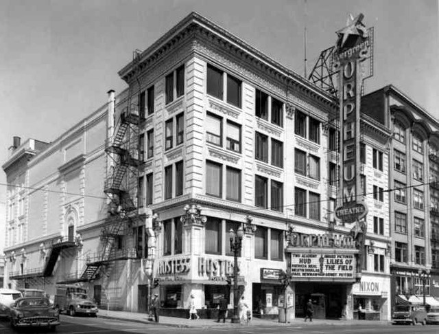 Orpheum Theatre exterior 