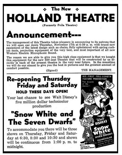 Holland Theatre