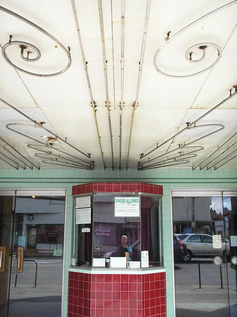 Box office and soffit