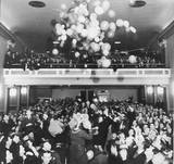 1950 New Years Eve Celebration at the Strand Theatre. Photo credit Heritage Resources, via Ron Janes.