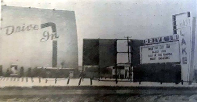 Eastlake Drive In. Ohio. 1964.