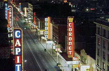 Coronet Theatre exterior