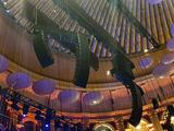 "Royal Albert Hall -- Close View of ""Flown"" Speaker Arrays."