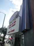 Outside Marquee New Beverly Cinema