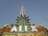 Neon Marquee Alex Theatre