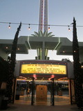 Back View Second Exit Marquee Alex Theatre