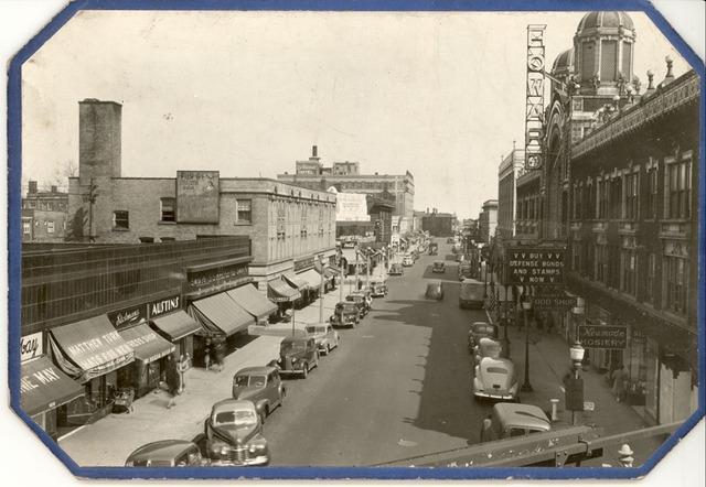 1940s photo courtesy of the Rogers Park/West Ridge Historical Society.