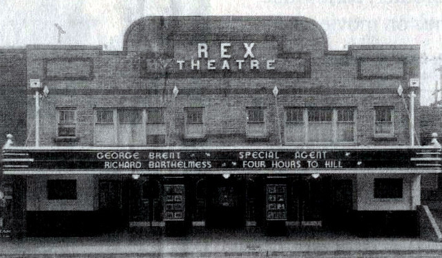 Rex Theatre exterior