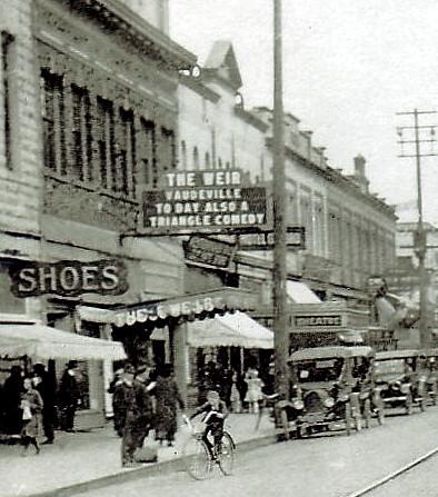 Weir Theatre exterior