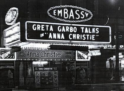 Embassy Theatre exterior