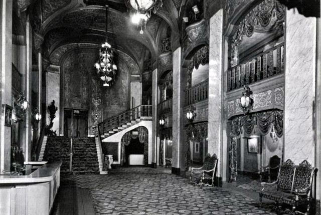 Paramount Theatre lobby area