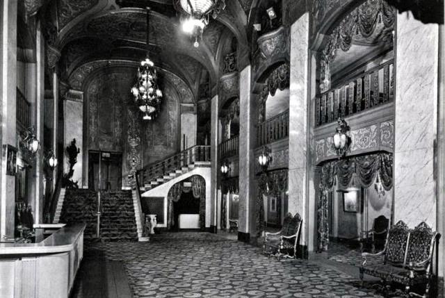 Paramount Theatre lobby area