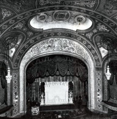Paramount Theatre proscenium 