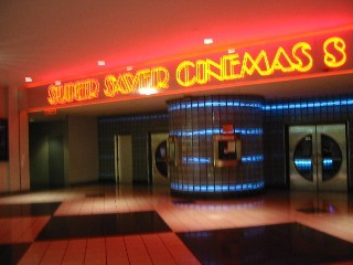 Screens at Cincinnati Mall