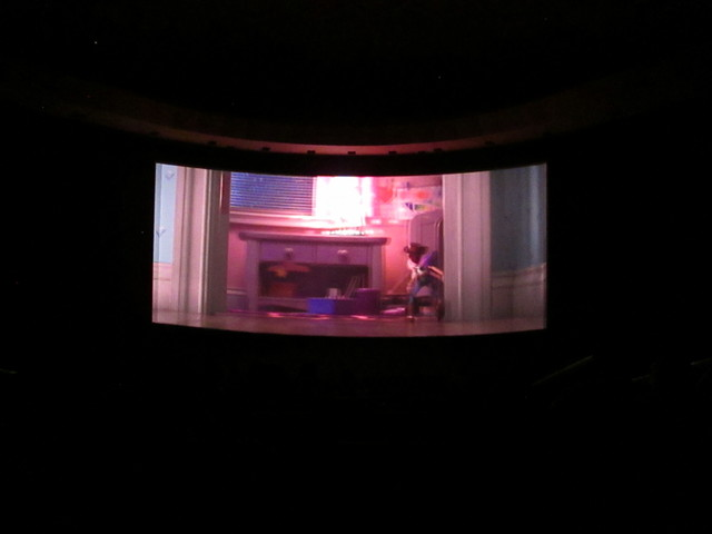 NEW LASER PROJECTORS CINERAMA DOME HOLLYWOOD