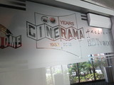 CINERAMA®  DISPLAY AT THE DOME.LOBBY