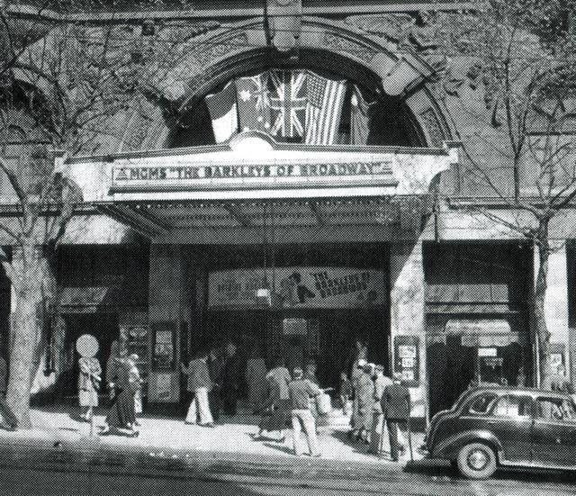 """METRO THEATRE  ( Later The Mayfair ) 167 Collins Street, Melbourne, Vic – Australia  - """"The Barkleys of Broadway""""  1949"""