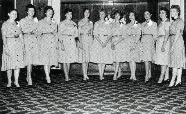 METRO THEATER  ( Later The Mayfair ) 167 Collins Street, Melbourne, Vic – Australia  - House Usherettes of the Golden Era