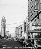 Central Theatre Oakland 1949