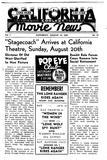 California Theatre Flyer 1939