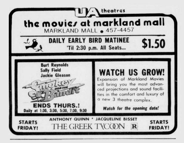 Markland Mall Cinemas