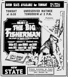 First day newspaper ad