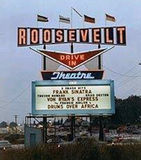 "[""1965 Color Photo of the Roosevelt Drive -In""]"
