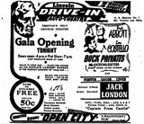 <p>April 2nd, 1948 grand opening ad</p>