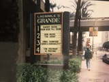 """[""""Marquee of the Laemmle Grande""""]"""