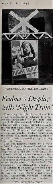 1941 news item courtesy Des Plaines Theatre facebook page.