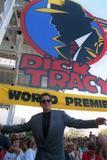 Warren Beatty attending Dick Tracy premiere