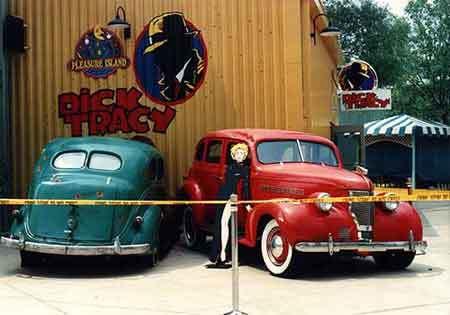 Dick Tracy Movie Cars