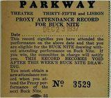 PARKWAY Theatre; Milwaukee, Wisconsin.