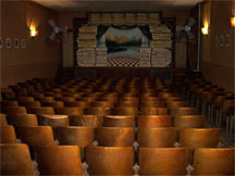 CIVIC Theatre auditorium, Pretty Prairie, Kansas.