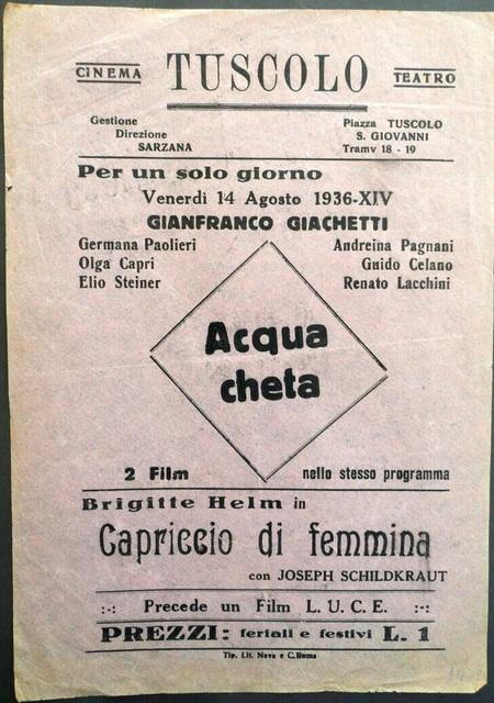 Cinema Teatro Tuscolo