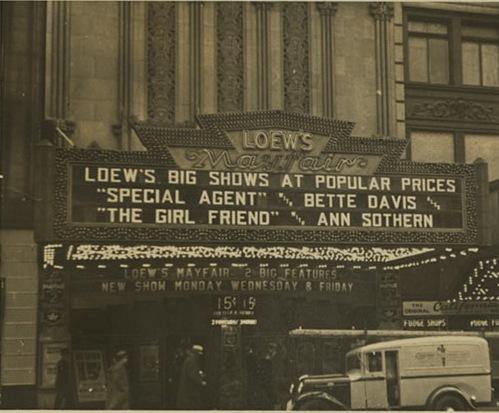 Loews Mayfair 1935