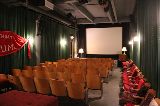 Our little theater!