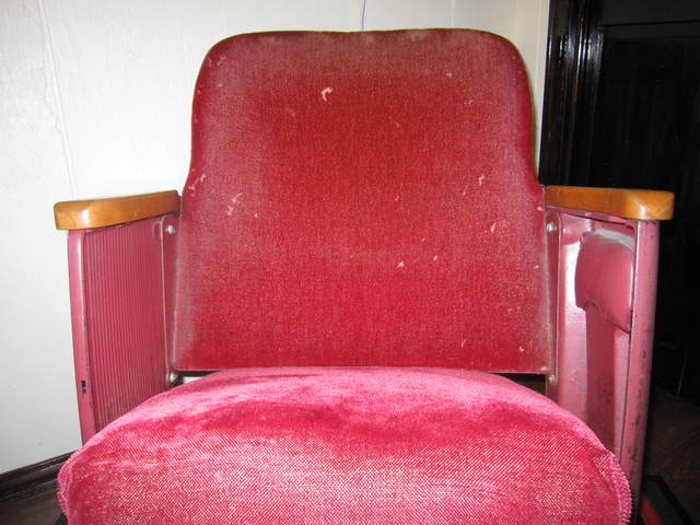 Will Rogers Movie Theater Chair Number 60