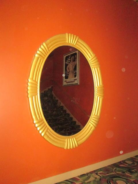 Deco Mirror In Upper Lounge Area New Mission Theatre