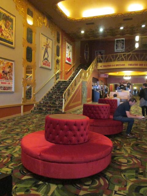 Main Entrance Lobby Alamo Drafthouse New Mission Theatre