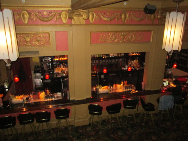 Bar Area At  Alamo Drafthouse New Mission Theatre