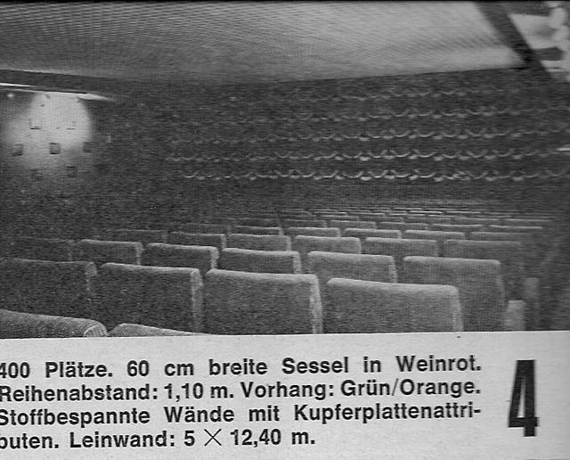 UFA Palast Hamburg spliting into 7 screen