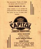 PERTH CAPITOL THEATRE to re-open as Cinema - 1942